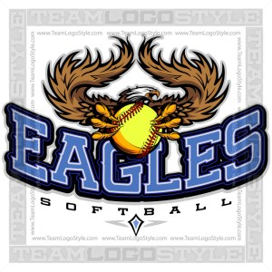 Team Logo - Eagles Softball