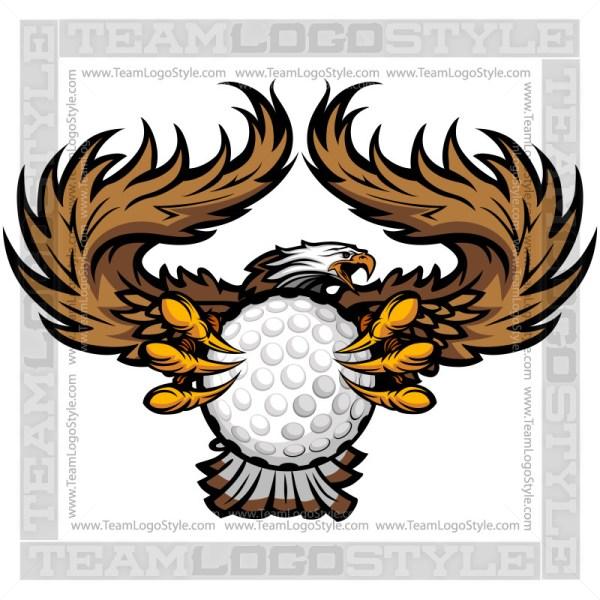 Team Mascot - Eagles Golf