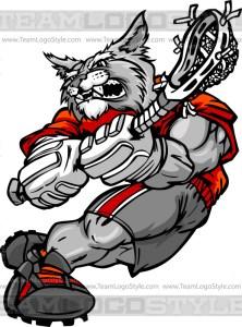 Wildcat Lacrosse Player