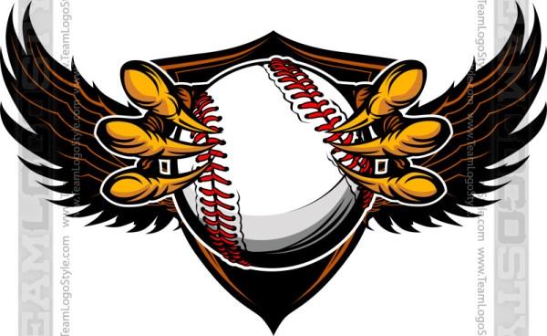 Baseball Talon Clipart