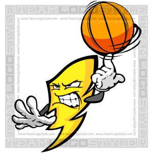 Basketball Power Cartoon