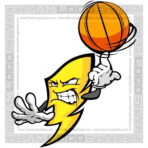Basketball Power Cartoon