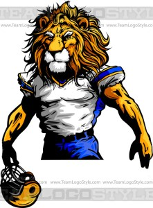 Lion Football Player