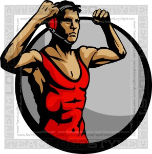 Wrestling Champion Art