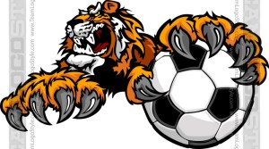 Tiger Soccer Clipart
