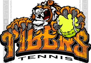 Tiger Tennis Logo