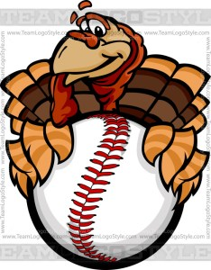 Baseball Turkey Clip Art