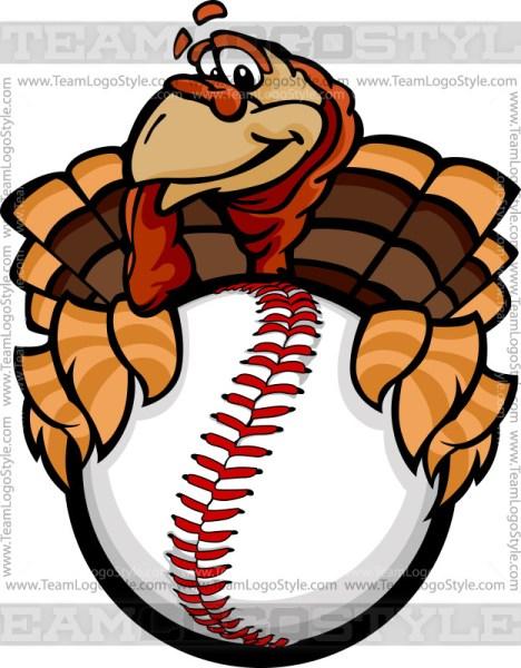 Baseball Turkey Clip Art