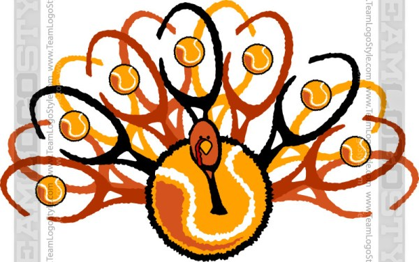 Thanksgiving Tennis Clip Art