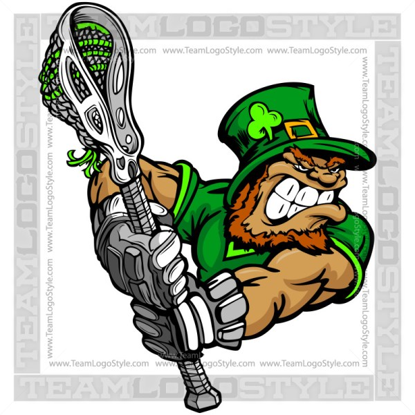 St. Patricks Lacrosse Art
