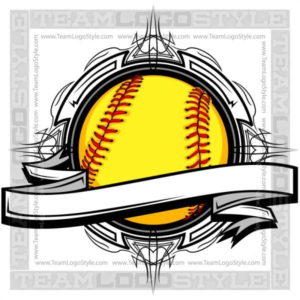 Softball Clipart