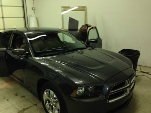 CHARGER WINDOW TINT