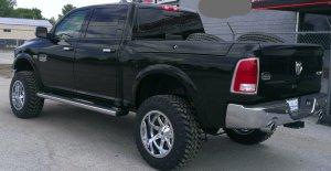 2015 Ram 1500 Pro Comp lift Fuel Maverick