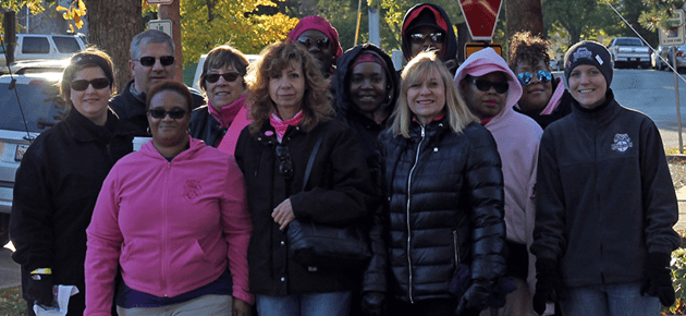 PHOTOS: Teamsters Join the Fight Against Breast Cancer