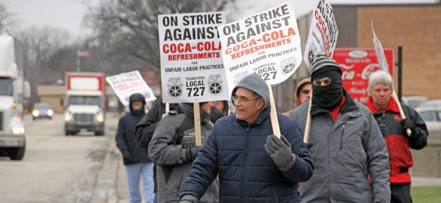 Teamsters Increase Strike Benefits