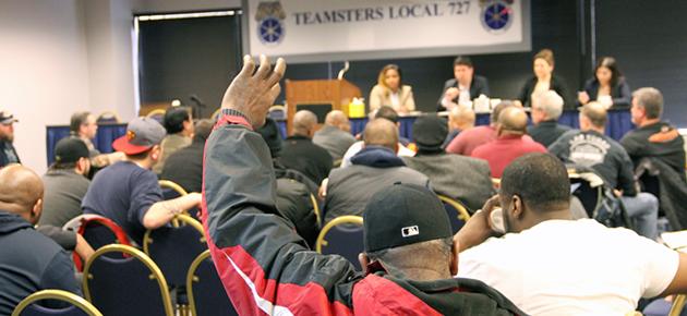 Local 727 Reps, Pepsi Members Gear Up for Negotiations