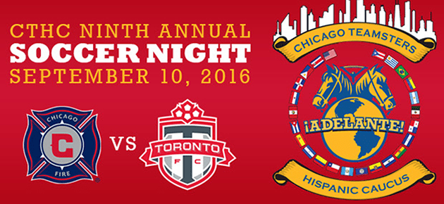 Join the Hispanic Caucus for Soccer Night Sept. 10 at Toyota Park