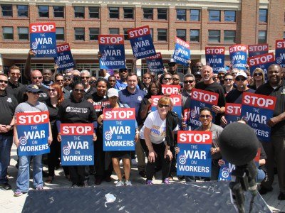 Unfair Labor Practice Strike Thursday By Security, Fire and Safety Officers at Navy Pier