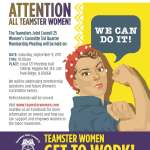 Attention Teamster Women: 3rd Quarter Membership Meeting Notice