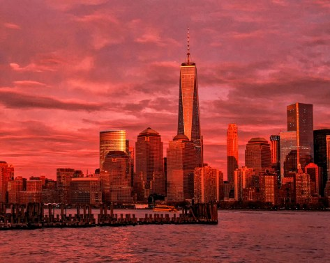NYC Sunset Afterglow