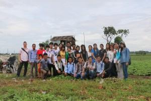 Task Force Meeting to poor community at Prek Takong, Phnom Penh