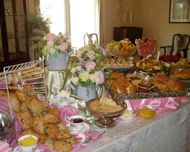 Large Of Tea Party Food