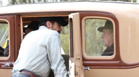 James Franco and Robert Duvall - In Dubious Battle