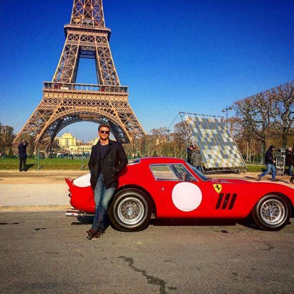 Scott Eastwood - 1962 Ferrari 250 GTO - Overdrive movie