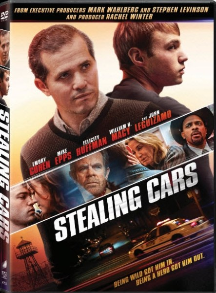 Stealing Cars Movie DVD cover