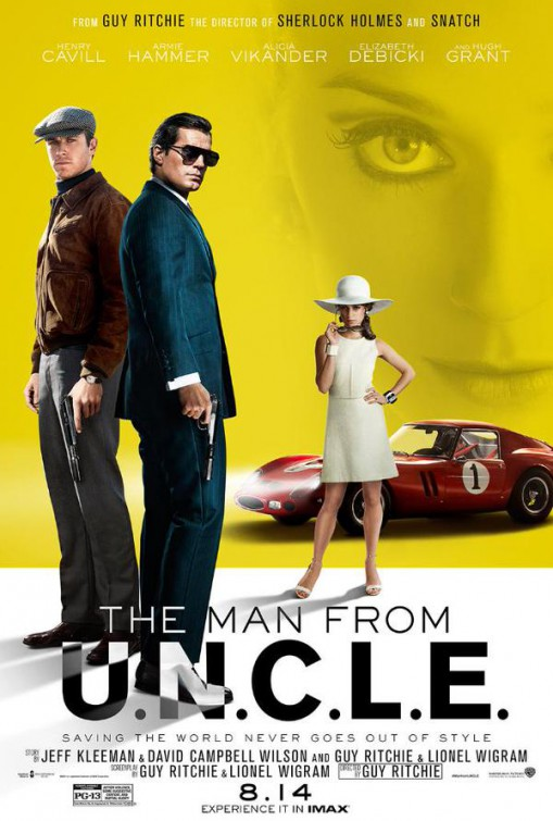 4 new posters of the man from uncle teaser trailer
