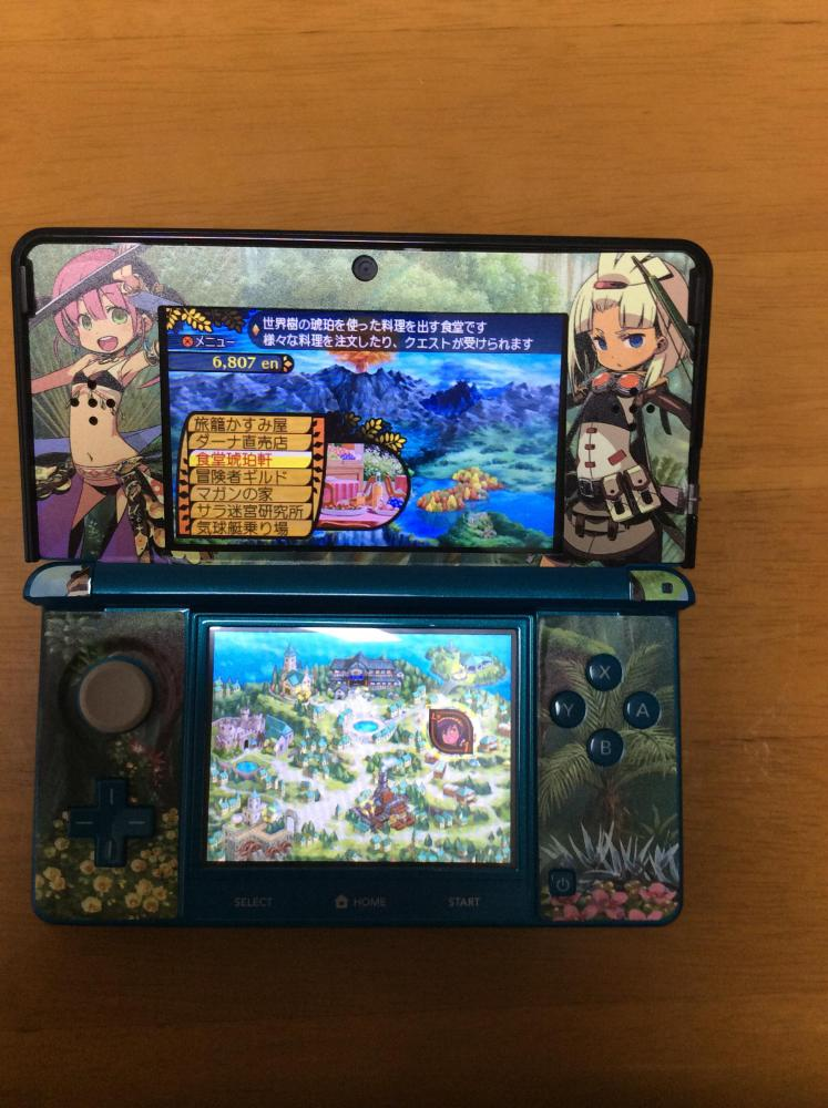 3DS 世界樹と不思議のダンジョン