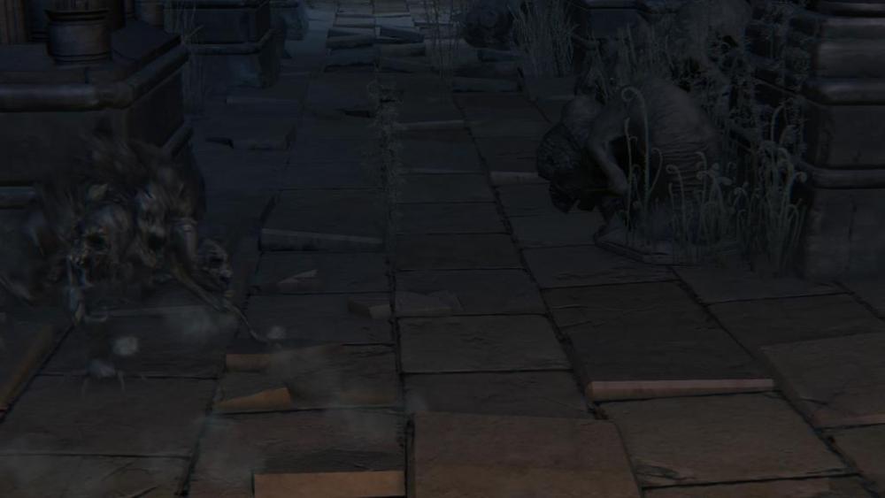 カサカサ 結晶トカゲもどき ブラッドボーン Bloodborne