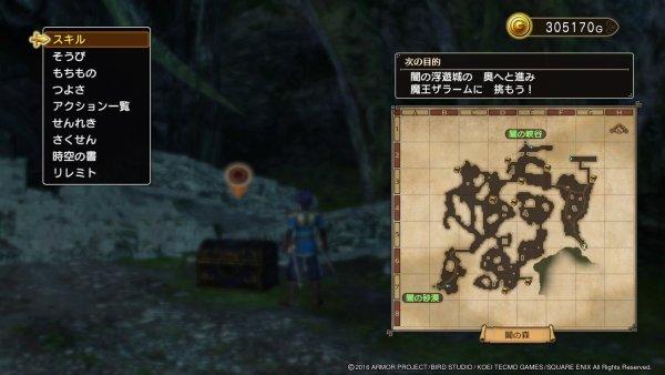 黒い宝箱 闇の森 ちいさなメダル ドラゴンクエストヒーローズ2