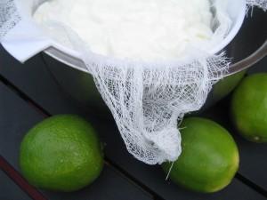 lime frozen yogurt