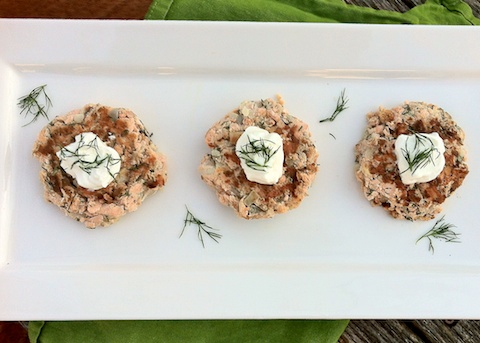 Norwegian Salmon Potato Cakes