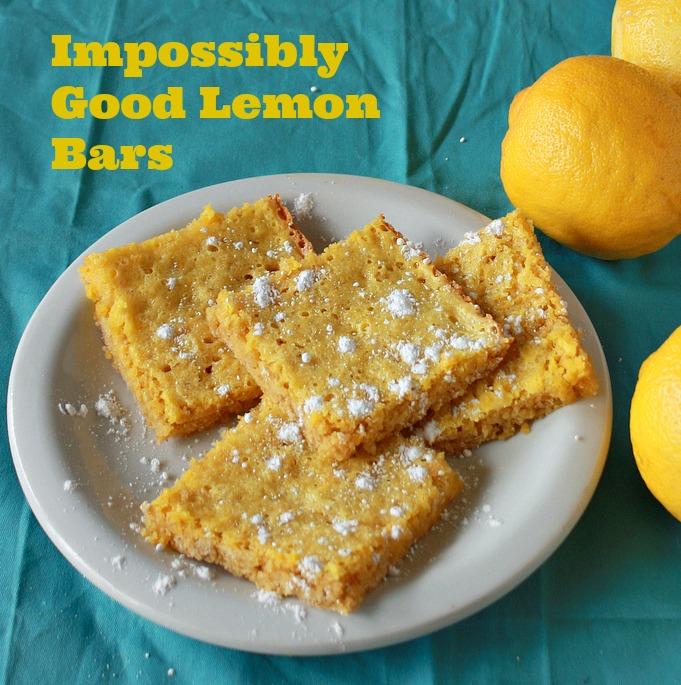 Impossibly Good Lemon Bars