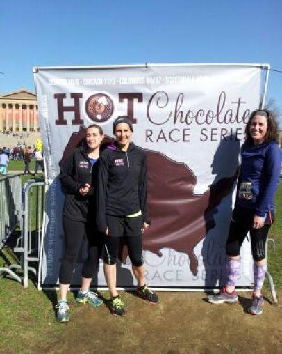 Hot Chocolate 15K Philly | Teaspoonofspice.com