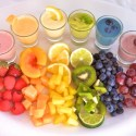 Rainbow Smoothie Sampler