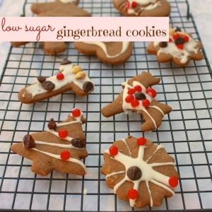 Low Sugar Gingerbread Cookies – The Recipe ReDux