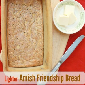 Lighter Amish Friendship Bread