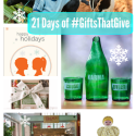 21 Days of #GiftsThatGive back to charity - ideas for food