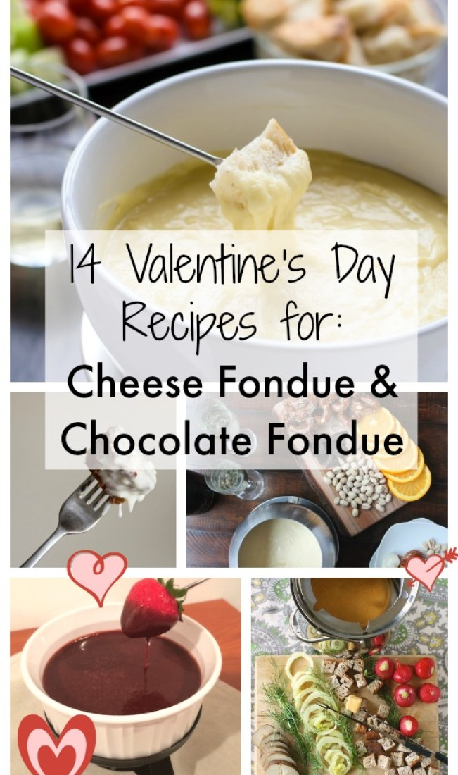 14 CHOCOLATE FONDUE RECIPES + CHEESE FONDUE RECIPES for Valentines Day | @tspcurry