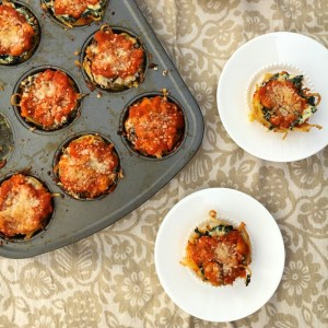 Mini Spaghetti Pizza Pies | The Recipe ReDux