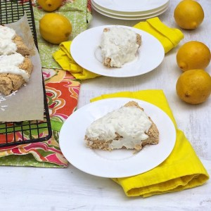 Gluten Free Lemon Coconut Scones