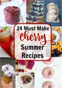 24 Must-Make Cherry Recipes For the Summer