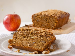 Apple Oatmeal Breakfast Bread