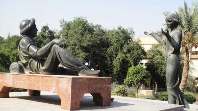 تمثال شهرزاد شهريار