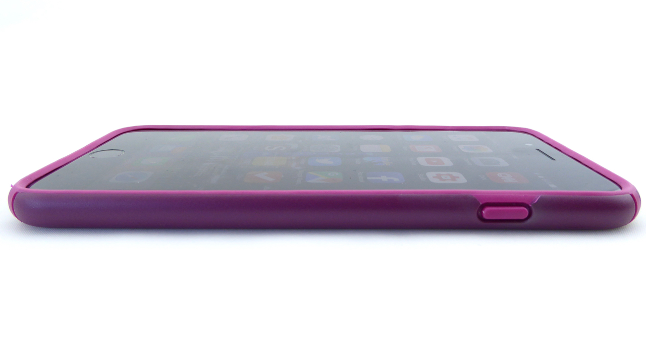 Speck Presidio for iPhone 7 Plus in Syrah Purple: Front Side View