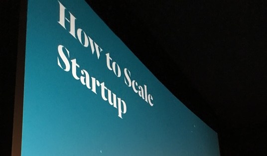 How to Scale Startup – Code Talks by @Schuon