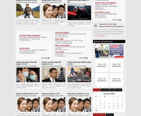 Zinet Wordpress Theme1 100+ Best Free Premium Wordpress Themes